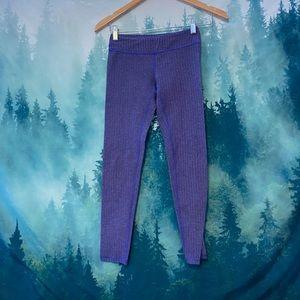 Ivivva girl's purple skinny leggings